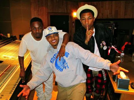 Kendrick Lamar , T.I & Pharrell