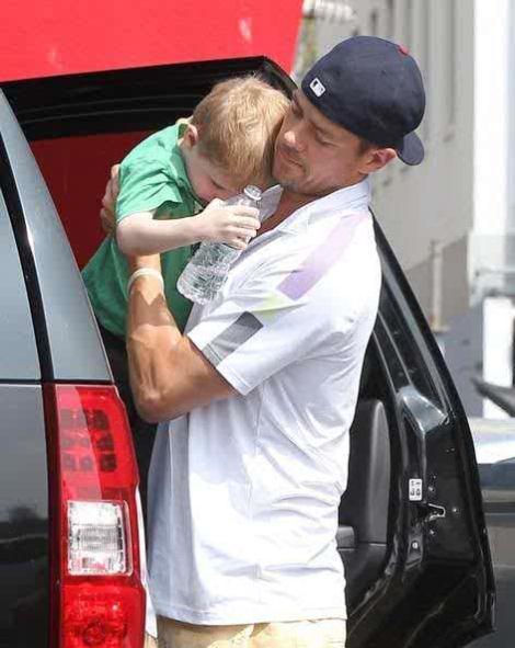 Josh Duhamel & Son, Axl