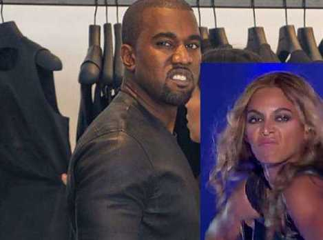 Kanye, stop being mad - Beyonce hit it first!