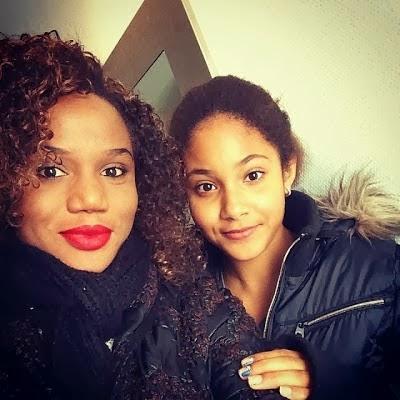 Maheeda & Daughter Divine